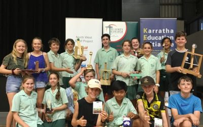 2019 STEM Expo held at St Luke's College