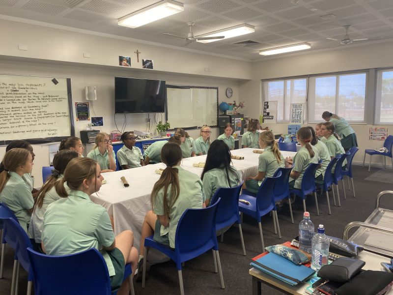 Year 10 Girls Lunch